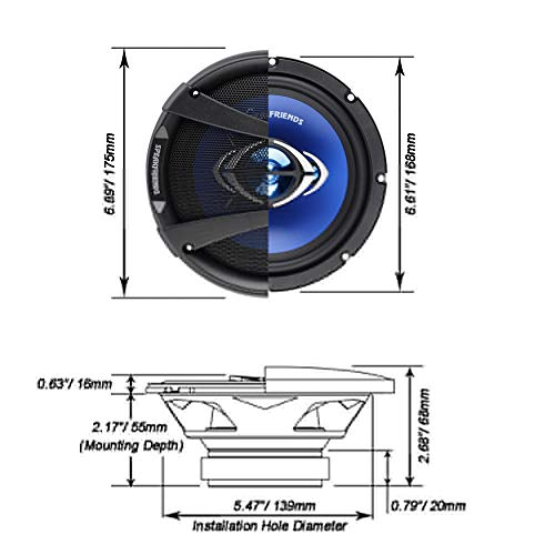 Buy 6.5 speakers with bass