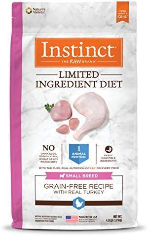 Instinct Limited Ingredient Diet Grain Free Recipe Natural Dry Dog Food