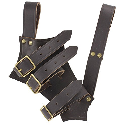 Chivalry Bridle Leather Brown Sword