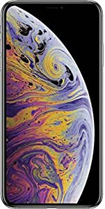Apple iPhone Xs Max 512GB Unlocked GSM+CDMA A1921 Sim Free (Silver, 512GB)