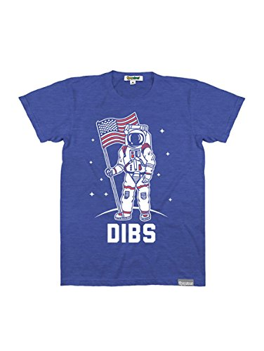 Patriotic Tee Shirts (Tipsy Elves Men's Red White and Blue Dibs T Shirt:)