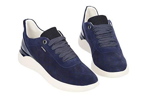 blue Donna D navy Theragon C4294 Da Scarpe C Ginnastica Geox Basse KF8xwPH66q