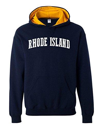 Ugo RI Rhode Island Providence Map Home of Rams University of Rhode Island Contrast Color Unisex - Cards University Village Gift
