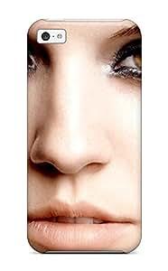 Excellent Design Grace Beautiful Eyes Portrait People Women Case Cover For Iphone 5c