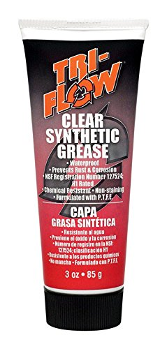 Tri-Flow TF23004 Clear Synthetic Grease - 3 oz. Tube