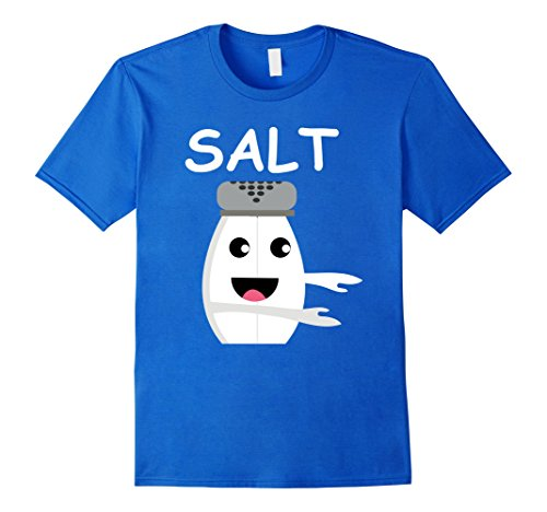 Mens Matching Halloween Costume SALT and Pepper Shirt for Couples 2XL Royal Blue - Halloween Couples Outfits