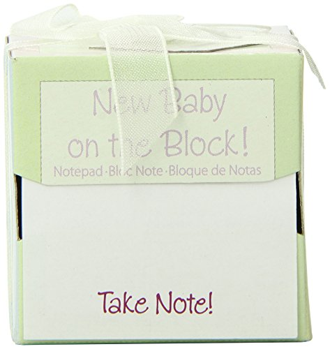 Kate AspenTake Note New Baby On The Block Sticky Notes