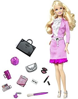 Barbie fashionistas sassy shops for makeup doll 45