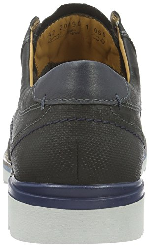 FRETZ men Lee - Zapatos con encaje para hombre Negro (51 Noir)