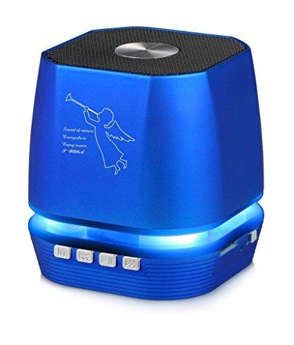 (Lighting Wireless Speaker w/FM Radio for Alcatel Onyx, 1x (2019), 5v, 7, Tetra)