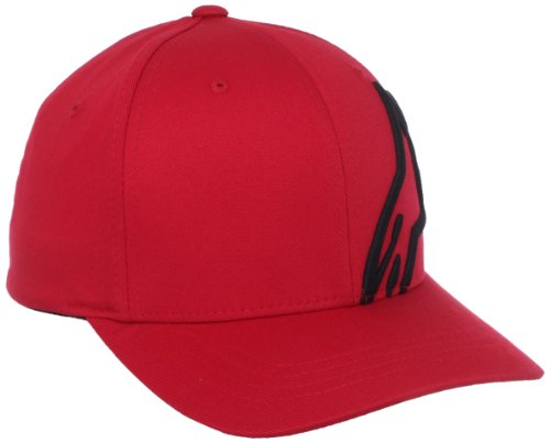 ALPINESTARS Men's Corp Shift Two Flexfit Hat, Red/Black,