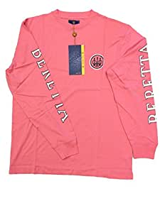 Beretta Men's Long Sleeve Shooting T-Shirt, Pink, X-Small