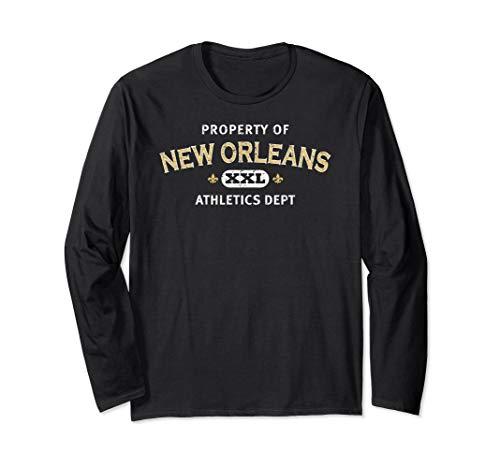 Property of New Orleans Athletics Dept. XXL L Sleeve ()