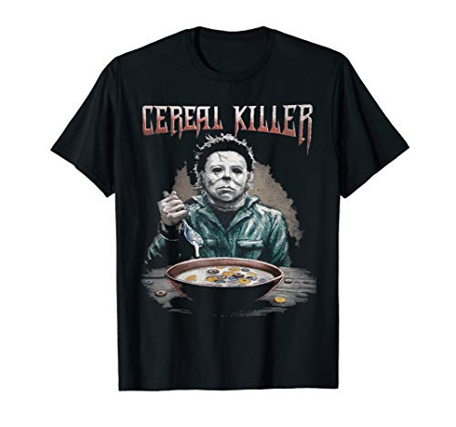 Funny Cereal Killer True Crime Serial Killer Gift T-shirt ()