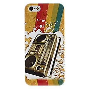Recorder Pattern Hard Case for iPhone 5/5S
