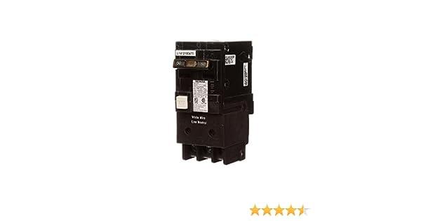 Siemens 50 Amp Double Pole Type QPF2 GFCI Circuit Breaker US2:QF250AP