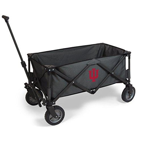 NCAA Indiana Hoosiers Adventure Digital Print Wagon, One Size, Dark Grey/Black by PICNIC TIME