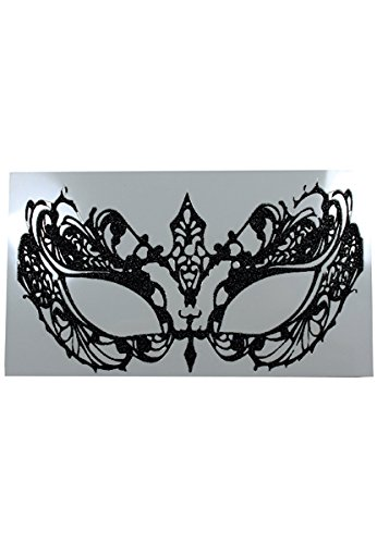 Face Decal Eye Lace - Easy Masquerade Costume Ideas
