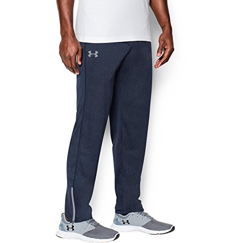 Under Armour Men's Tech Pants, Midnight Navy/Steel, Large