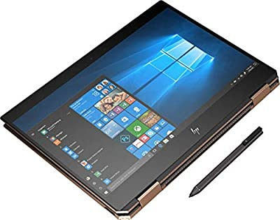"2019 Spectre x360 13t Gem Cut 4K 3840x2160 with 13.3"" Display 2 in 1(i7-8565U, 16GB, 512GB, IR Cam, Stylus Pen, 3 Years McAfee Internet Security, Windows 10 PRO Upgrade, Worldwide Warranty) Dark Ash"