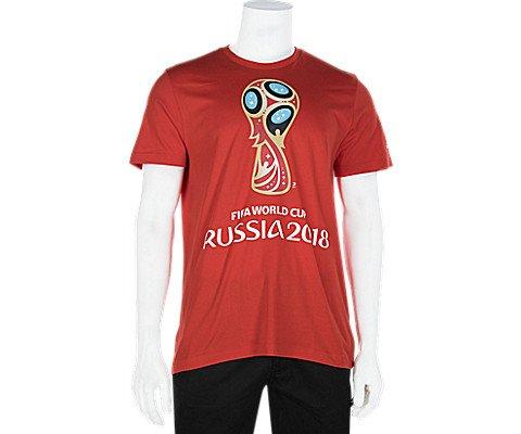 adidas Mens Soccer World Cup Emblem Tee