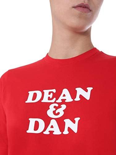 DSQUARED2 Luxury Fashion Donna S75GD0096S22427307 Rosso Cotone T-Shirt | Primavera-Estate 20