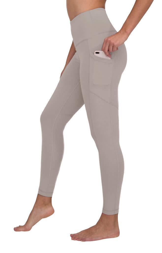90 Degree By Reflex Women's Power Flex Yoga Pants - Silver Berry - XS by 90 Degree By Reflex