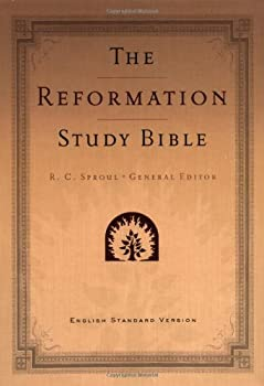 The Reformation Study Bible: English Standard Version Imitation Leather (Tan) W/Maps 0875526438 Book Cover