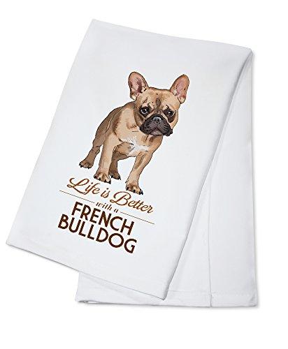 french bulldog kitchen towel - 4