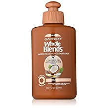 Garnier Whole Blends Coconut Oil and Cocoa Butter Leave-In Conditioner. Smoothing, Frizz-Control, Paraben-Free, 300 ml