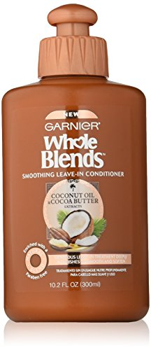 Garnier Whole Blends Leave-In Conditioner with Coconut Oil & Cocoa Butter Extracts, 10.2 fl. oz.