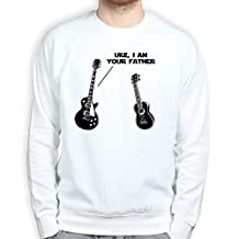 UKE Your Father Les Paul Guitar Traditional Standard Sweatshirt