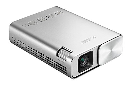 ASUS ZenBeam E1 Pocket LED Projector, 150 Lumens, 6000mAh Battery, 5-hour Projection, Power Bank, Auto Keystone Correction, HDMI/MHL