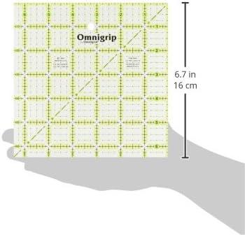 "Omnigrip por Omnigrid Antideslizante 6/""x12/"" regla Quilter/'s Prym 6 X 12 pulgadas no"