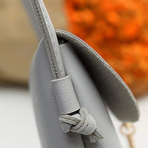 bandoulière pendentif à petit sac embrayage main Sac femme bandoulière sac PU à à en cerf rabat à sac téléphone portable style petit de sac simple cuir xXq8qCwF