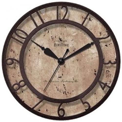 Captivating RAISED NUMBER WALL CLOCK