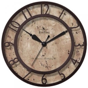8 IN. RAISED NUMBER WALL CLOCK