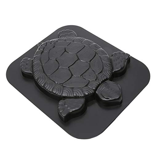 Turtle Stepping Stone Mold Concrete Cement Mould ABS Tortoise for Garden Path Walking Path Maker Mold Brick DIY Decor (Stepping Abs Stone Plastic Mold)