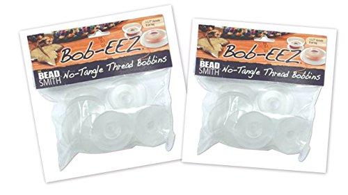 - 16 Beadsmith BOB-eez NO Tangle Thread Bobbins 1-7/8