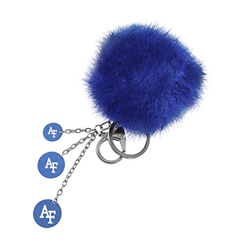 United States Air Force Academy, Color Puff Key Chain, Blue (United States Air Force Academy Colors Blue)