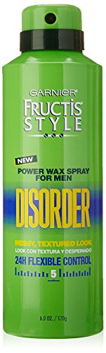 Garnier Hair Care Fructis Style Power Wax Disorder Spray for Men, 6 Ounce