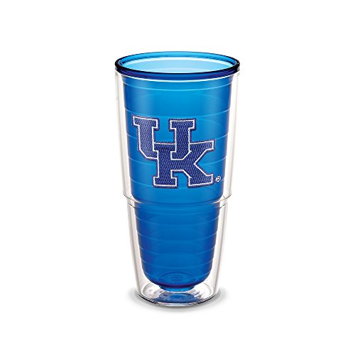 Kentucky Sapphire (Tervis Kentucky Univ Emblem Sapphire Inner 24oz Tumbler with No Lid, Blue)