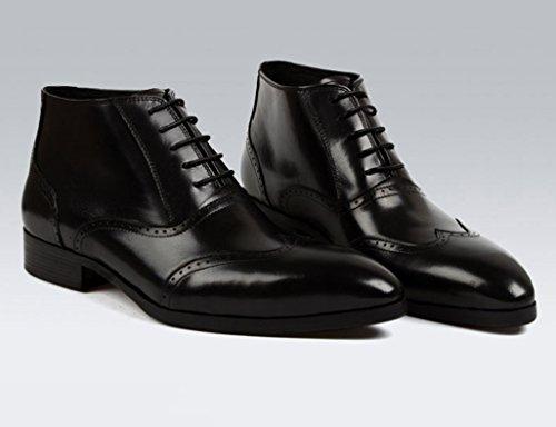 HWF Scarpe Uomo in Pelle Stivali da uomo Martin Army Leather Boots Black (Colore : Marrone, dimensioni : EU44/UK8.5)