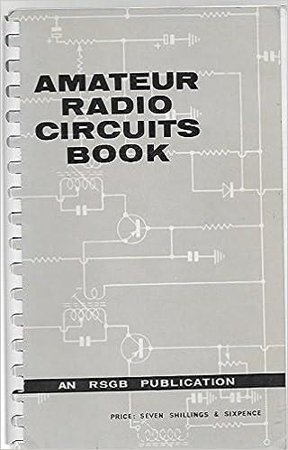 Amateur Radio Circuits Book: G R  Jessop: Amazon com: Books
