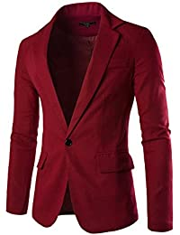 Amazon.com: Red - Sport Coats & Blazers / Suits & Sport Coats ...