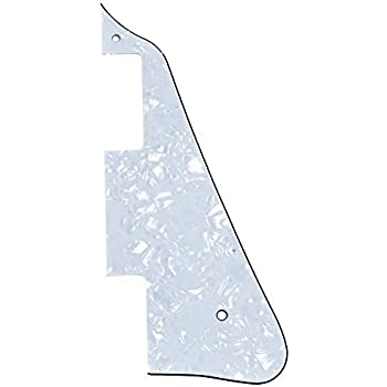 1pc New White Pearl Electric Guitar Pickguard for Gibson Les Paul Guitar Replacement