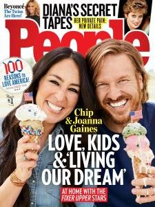 People Magazine (July 3, 2017) Chip & Joanna Gaines Cover