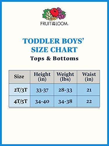 Fruit of the Loom Boys' Cotton Tank Top Undershirt (Multipack)