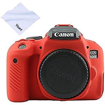 Amazon.com: Yisau - Funda para cámara Canon EOS Rebel T6 ...