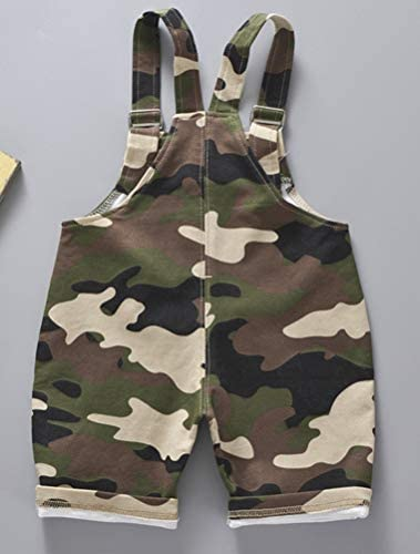ARAUS Toddler Baby Overalls Camo Overalls Strap Jumpsuit Clothes Outfit for Girl Boy 0-4 Years